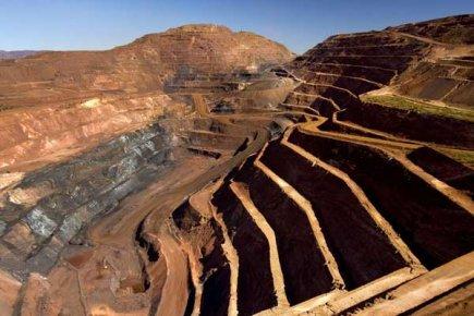 Une mine de Rio Tinto dans l'ouest de... (Photo AFP)