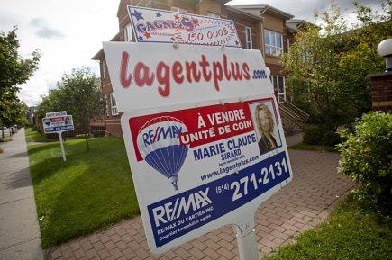 En octobre 2012, toutes les catégories de propriété... (Photo David Boily, archives La Presse)