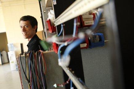 Simon Leblond, fondateur et président deSCLÉléments.... (Photo Martin Chamberland, La Presse)