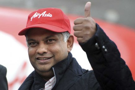 Le grand patron d'AirAsia, Tony Fernandes (notre photo),... (Photo AFP)