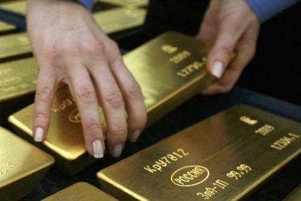 Le prix de l'or a basculé sous les 1600$US l'once la semaine dernière, touchant... (Photo Reuters)