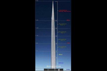 L 39 arabie saoudite veut la tour la plus haute du monde hors cote - Projet tour la plus haute du monde ...