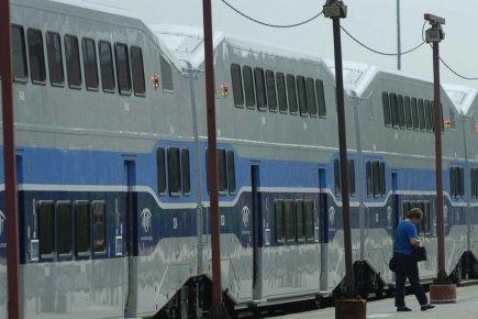 En ajoutant un départ du train de banlieue de Mont-Saint-Hilaire - un des plus... (Photo archives La Presse)