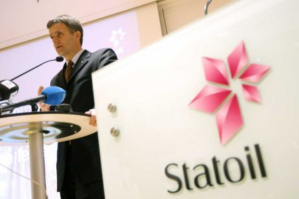 Le PDG de Statoil, Helge Lund.... (Photo d'archives, PC)