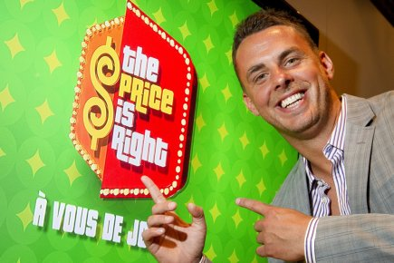 Philippe Bond anime Price is Right: À vous... (Photo Robert Skinner, La Presse)