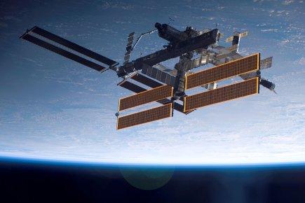 La Station spatiale internationale... (Photo: archives NASA)