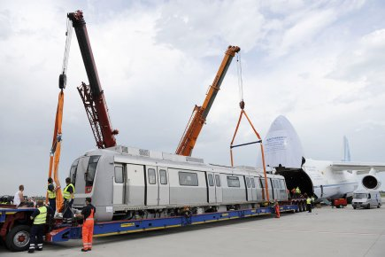 Bombardier Transport a conclu ces ententes avec la... (Photo: AFP)