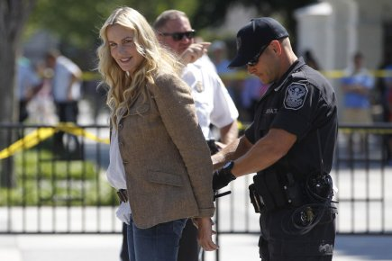 L'actrice américaine Daryl Hannah a été arrêtée à... (Photo: Reuters)