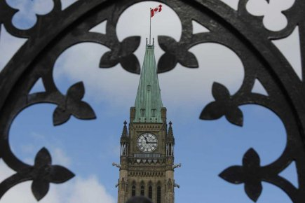 Le parlement canadien, à Ottawa.... (Photo Étienne Ranger, Le Droit)