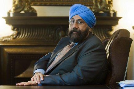 L'homme d'affaires montréalais Baljit Chadha était à Ottawa... (Photo: Graham Hughes, La Presse Canadienne)