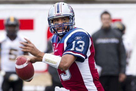 Anthony Calvillo... (Photo: Robert Skinner, La Presse)