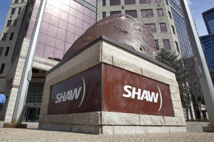 Le siège social de Shaw Communications à Calgary... (Photo: PC)