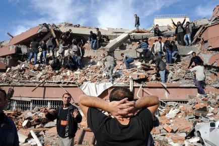 L'épicentre du séisme était situé non loin de... (Photo: AFP)