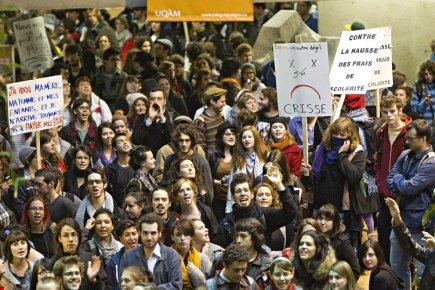 Dans les faits, les étudiants universitaires allongeront 116... (Photo: Patrick Sanfaçon, archives La Presse)