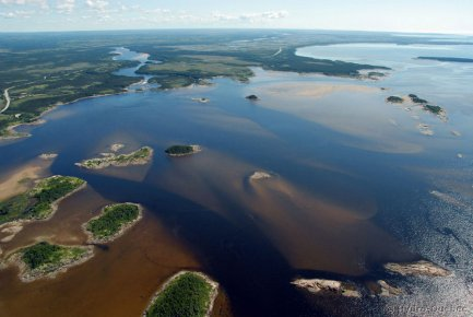 La construction du projet de La Romaine devrait... (Photo fournie par Hydro-Québec)