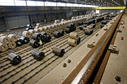 L'indienne Tata Steel (sur la photo) fait partie... (Photo Archives Reuters)