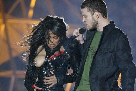 L'affaire du sein de Janet Jackson avait provoqué... (Photo: Reuters)