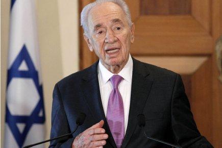 Le président israélien Shimon Peres.... (Photo: Andreas Lazarou, AFP)