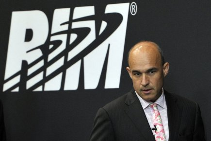 Le cofondateur de RIM, Jim Balsillie... (Photo: Reuters)