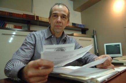 Serge Fortier, porte-parole du comité interrégional de vigilance... (Photo: Ève Guillemette)