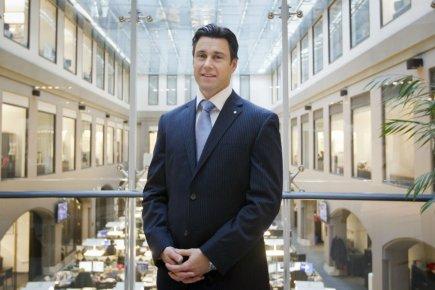 Frédéric Paquette, vice-président de la firme de courtage... (Photo Edouard Plante-Fréchette, La Presse)