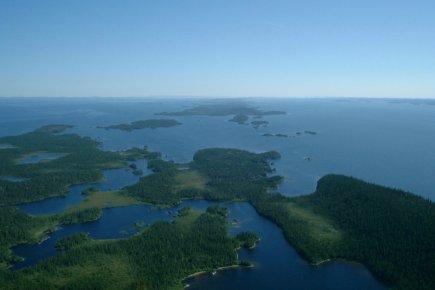 «On construit dans un milieu nordique peu développé,... (Photo fournie par le MDDEP)