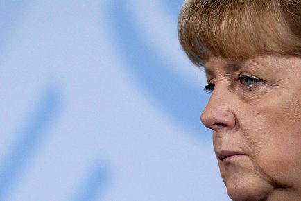 La chancellière allemande, Angela Merkel.... (Photo AP)