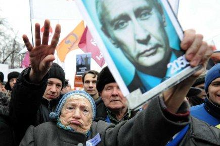 Une Russe ne veut pas de Vladimir Poutine... (Photo AFP)