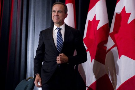 Le gouverneur de la Banque du Canada, Mark... (Photo: PC)