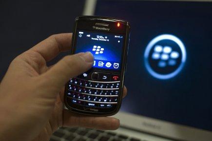 La renommée du nom «BlackBerry» s'est effondrée depuis un an, passant de la 56e... (Photo: Jonathan Ernst, Reuters)