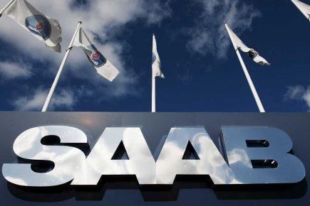 Le siège social de Saab en Suède.... (Photo AFP)