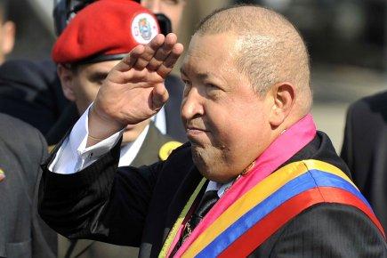 Hugo Chavez (notre photo) a affirmé que Barack... (Photo: Juan Barretole, AFP)