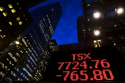 Le TSX n'a pas connu de variation majeure,... (Photo: Mark Blinch, Archives Reuters)