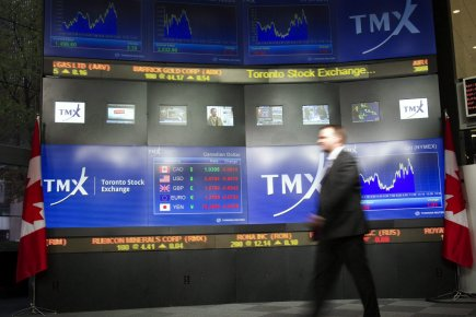 Peu de variations pour la Bourse de Toronto,... (Photo: Frank Gunn, PC)