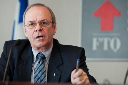 Michel Arsenault, président de la FTQ.... (Photo Édouard Plante-Fréchette, La Presse)