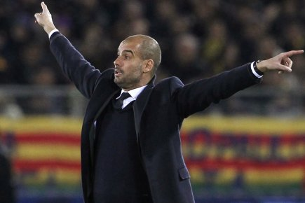 Le contrat de l'entraîneur Josep Guardiola avec le... (Photo: Reuters)