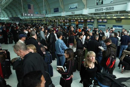L'aéroport international Pearson à Toronto.... (Photo archives PC)