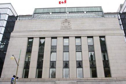 La Banque du Canada... (Photo Étienne Ranger, Le Droit)