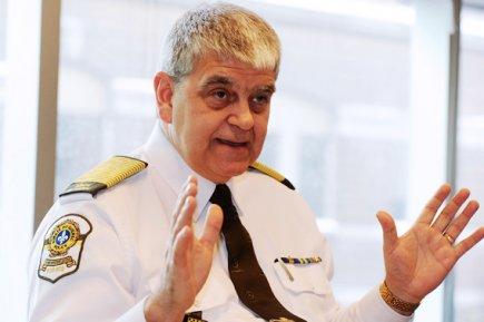 Le patron de la Sûreté du Québec, Richard... (Le Soleil, Erick Labbé)