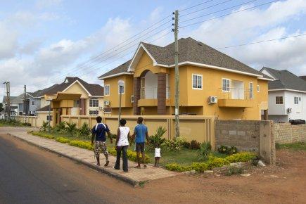 De plus en plus de Ghanéens de la... (Photo Robert Skinner, La Presse)