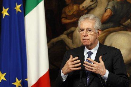 Le premier ministre italien Mario Monti.... (Photo Tony Gentile, Reuters)