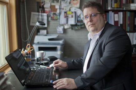 Martin Dupras, président du conseil d'administration de l'Institut... (Photo: Édouard Plante-Fréchette, La Presse)