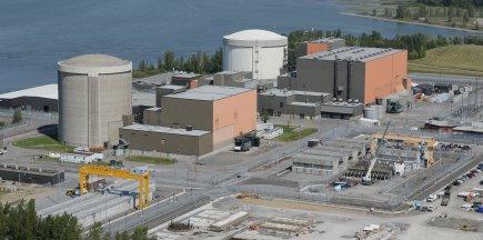 La centrale nucléaire Gentilly-2....