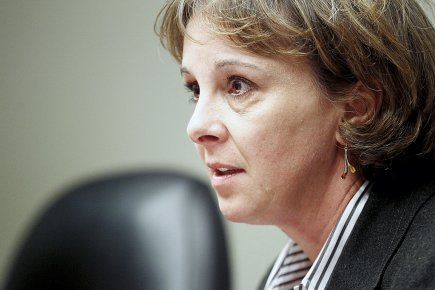 Isabelle Courville, présidente d'Hydro-Québec Distribution... (Le Soleil, Yan Doublet)