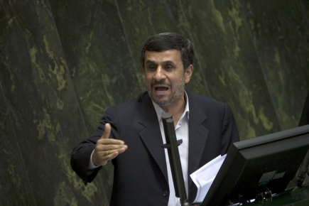 Le président iranien, Mahmoud Ahmadinejad.... (Photo Reuters)