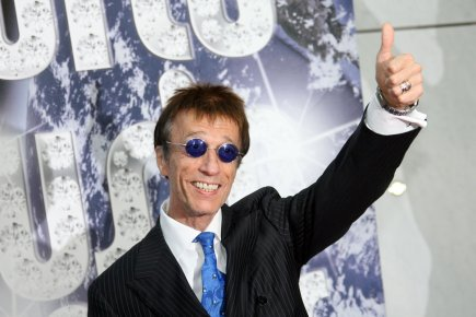 Robin Gibb... (Photo: Archives Agence France-Presse)