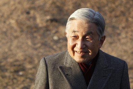 Empereur du japon, akihito, est âgé de 78... (photo: issei kato