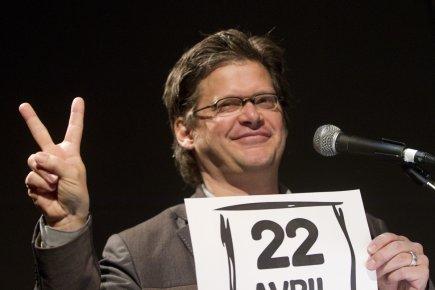 Dominic Champagne a  appelé à la mobilisation... (Photo: Ivanoh Demers, La Presse)