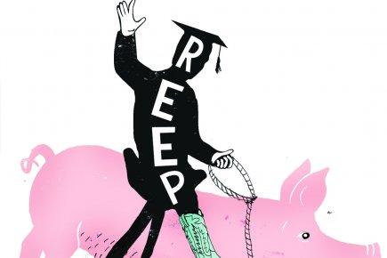 Combien peut-on retirer du REER pour retourner aux études? (Illustration Francis Léveillée, La Presse)