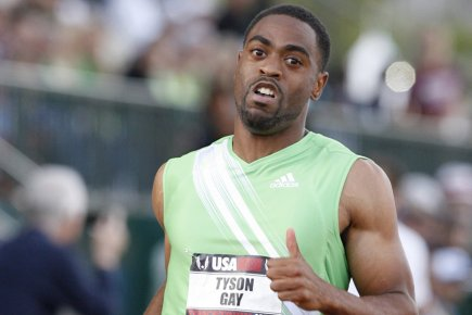 Tyson Gay... (Photo: Reuters)